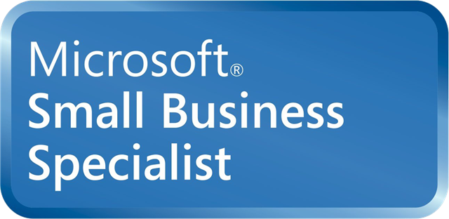 Logo Microsoft Small Business Specialist